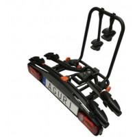 Bagażnik rowerowy na hak Aguri Active Bike 2 2020 czarny
