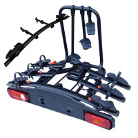 Bagażnik rowerowy na hak Aguri Active Bike 3+1 2020 czarny