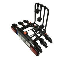Bagażnik rowerowy na hak Aguri Active Bike 3 2020 czarny