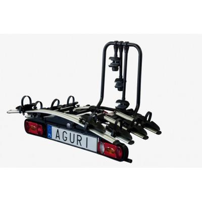 Bagażnik rowerowy na hak Aguri Active Bike 4 3+1
