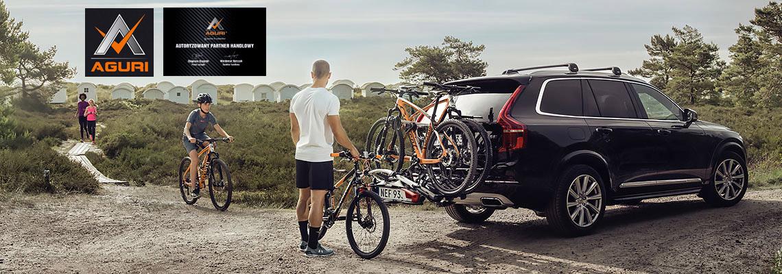 Bagażniki rowerowe platformy na hak