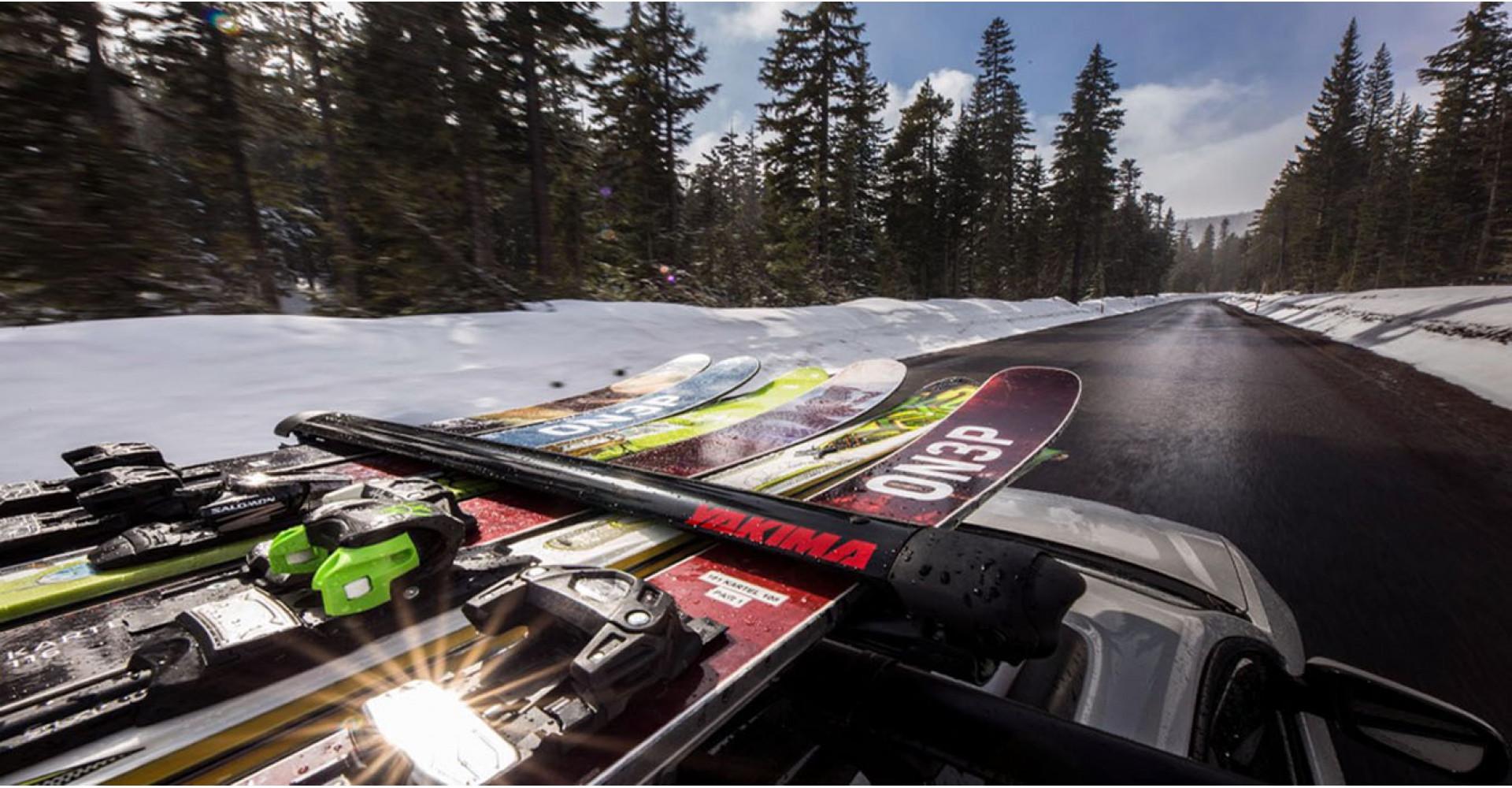 uchwyty bagażniki narciarskie na narty do nart